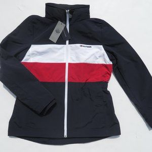 TOMMY HILFIGER Women's Yacht Jacket Large NEW